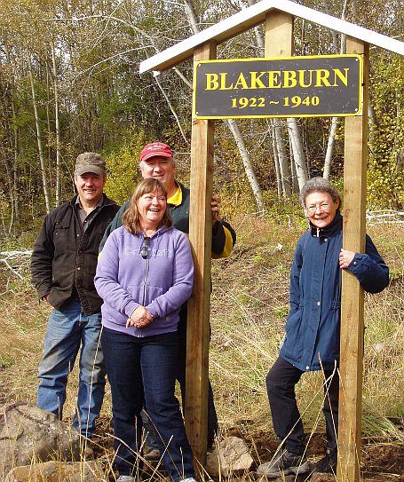 Blakeburn Sign Party