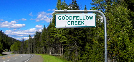 Goodfellow Creek in Manning Park