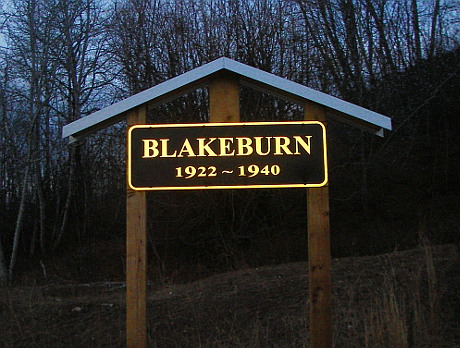 New Blakeburn Sign